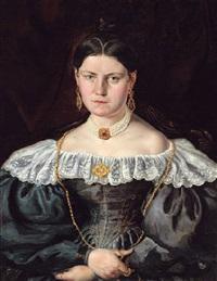 porträtt av charlotte mazer by carl petter mazer