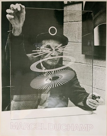 sans titre photographed by richard hamilton by marcel duchamp