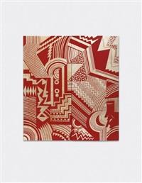 unique and important pair of wall-panels, designed for the smoking room, 'pavillon d'une ambassade française', l'exposition internationale des arts décoratifs et industriels modernes, paris by jean dunand