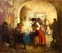 at the market by augustus koopman