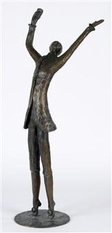 tanzender jüngling mit einem becher in der rechten hand by meta (maria theresia) mettig von ellenberger