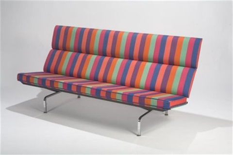 sofa compact by alexander girard and charles eames