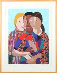 three women by elizabeth catlett