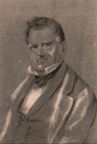 portrait of joe raphael by charles (rhodius) rodius