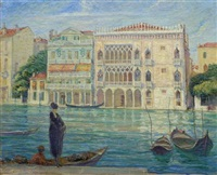 a venetian canal by harriette bowdoin