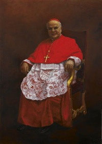 cardinal josé saraiva martins by alexander melamid