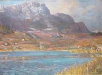 paysage de bavière by franz löffler