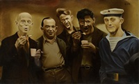 the ice cream eaters by nikolai spiridonov