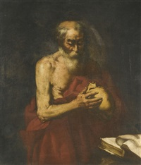 the penitent saint jerome by jusepe de ribera