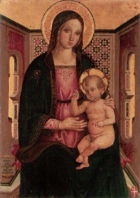 the madonna and child by andrea di aloigi di apollonio da assisi