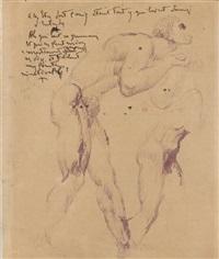 académie d'homme de profil by marcel leloir