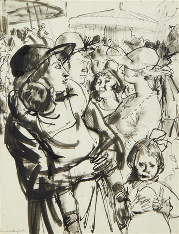 at the fair by dame laura knight