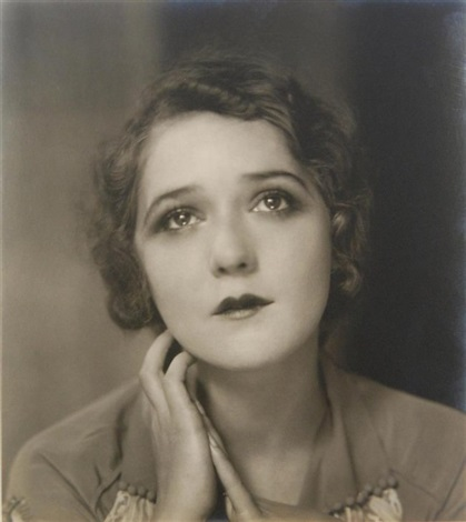 mary pickford with sad expression by edward steichen