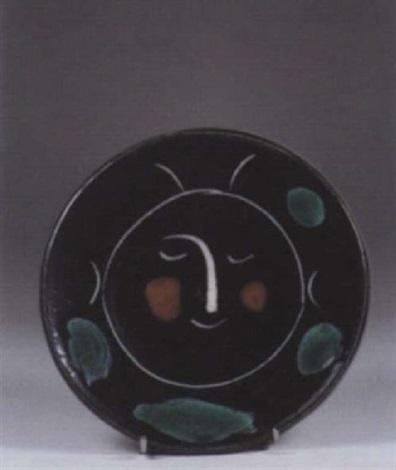 618e796ddfc Service visage noir by Pablo Picasso on artnet