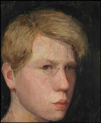 portrait of a boy by eric e. goldberg