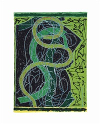 imola five ii (from circuits) by frank stella