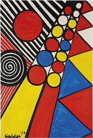ball game by alexander calder