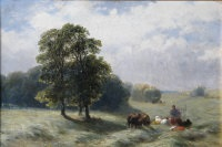 haymaking by james john hill