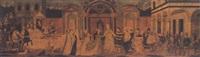 the marriage of frederick iii to leonora of portugal in siena by giovanni di ser giovanni di (lo scheggia) simone