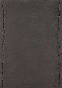 ohne titel (confinium schwarz) by hermann bartels