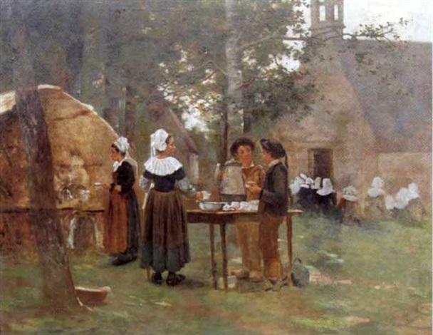 le fête du cidre en bretagne by eugène labitte