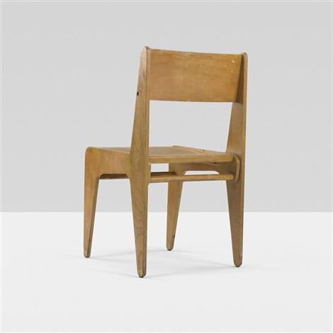 desk chair from bryn mawr college pennsylvania by marcel breuer