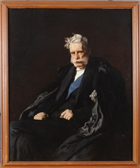 portrait of the fourth duke of cleveland by francis montague (frank) holl