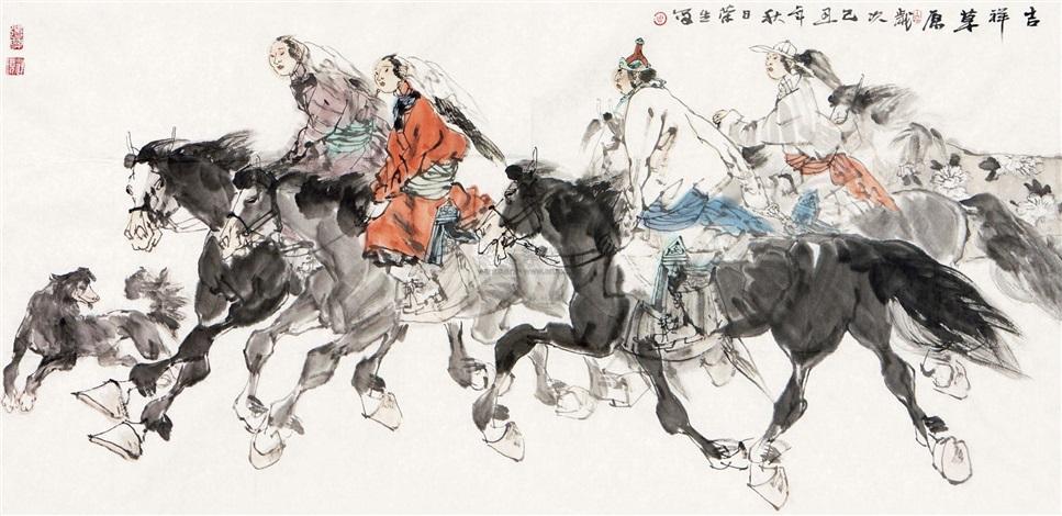 吉祥草原 by zhou rongsheng