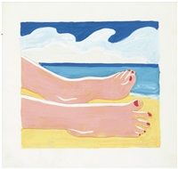 seascape study by tom wesselmann
