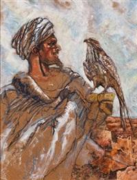 le départ d'une chasse au faucon by patrice laurioz