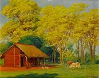 a ranch, san lorenzo (+ through the yellow arches; pair) by pablo alborno