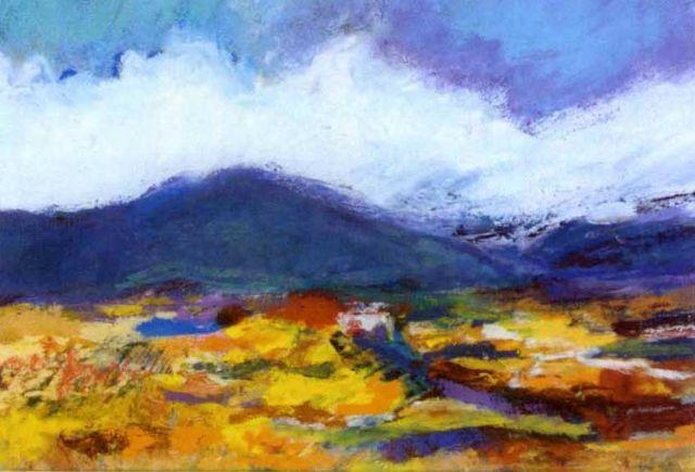 kerry landscape - glenbeigh, co. kerry by deirdre crowley