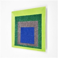 from study for homage to a square by josef albers