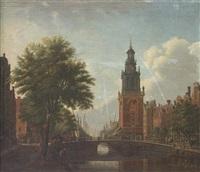 the jan roodenpoortstoren, amsterdam by paulus constantijn la (la fargue) fargue