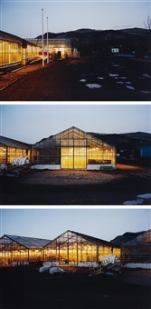 yellow light: iceland series (in 3 parts) by olafur eliasson