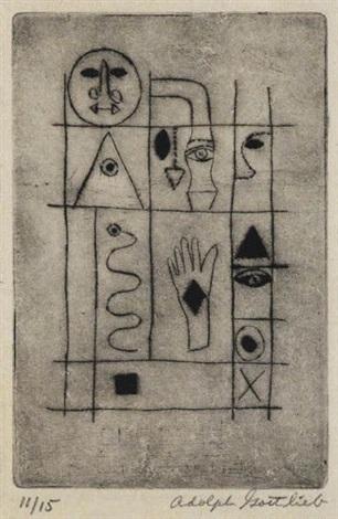 hieroglyph by adolph gottlieb