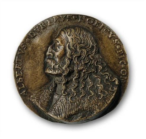 medaille mit dem bildnis albrecht dürers