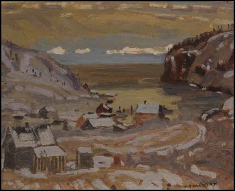 coldwell lake superior by alexander young jackson