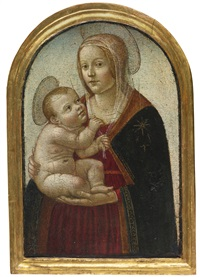 madonna and child by master of san miniato