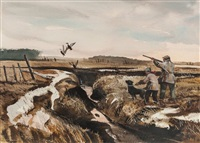 jump shooting black ducks by chet reneson