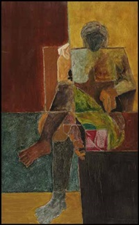 woman by shamshad husain