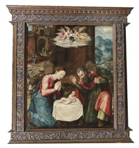 the nativity by maerten jacobsz van heemskerck
