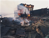 shipbreaking #11, chittagong, bangladesh by edward burtynsky