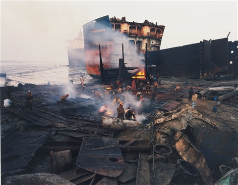 shipbreaking 11 chittagong bangladesh by edward burtynsky