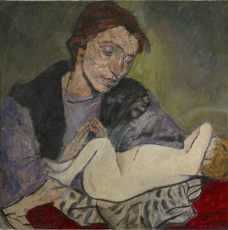 mütterlichkeit mutter mit kind by maria mela muter