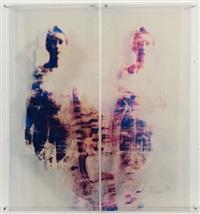 sans titre (diptych) by ulrike bolenz