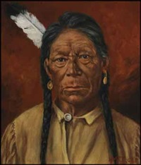 o-hoo, a cree indian by henry metzger