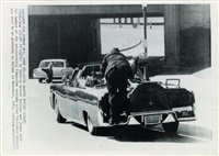 jfk is shot by an assassin in dallas (3 works) by associated press