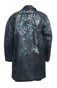 graffiti jacket by keith haring
