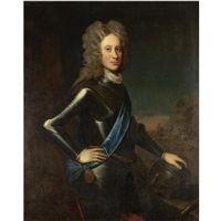 portrait of a nobleman (john campbell, 2nd duke of argyll?) by william aikman